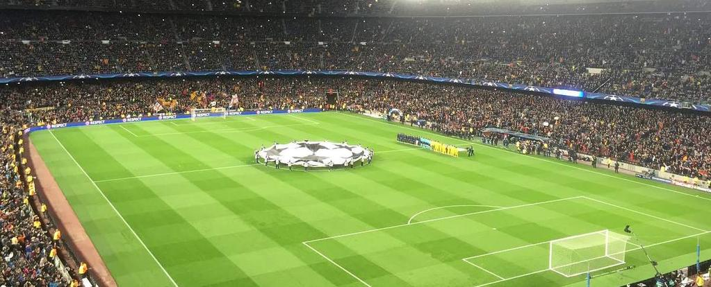 Camp nou has been standing since being referbished in 1957 deeply