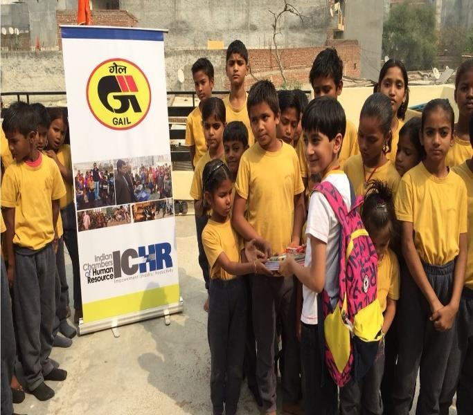 (Educational DVD distribution to children for