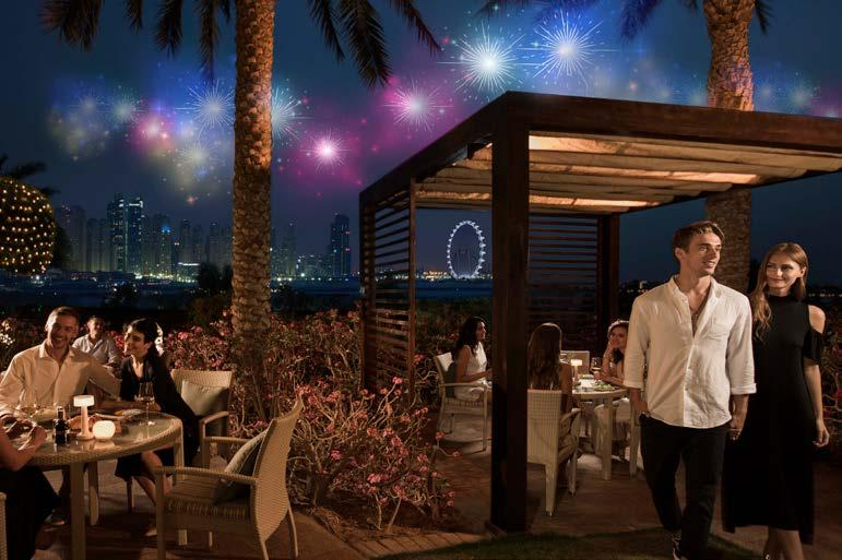 8 A LUCKY NEW YEAR S EVE AT BA RESTAURANT AND LOUNGE Spend your last night of 2018 tasting an array of Asian dishes with breathtaking views of Dubai Marina skyline.