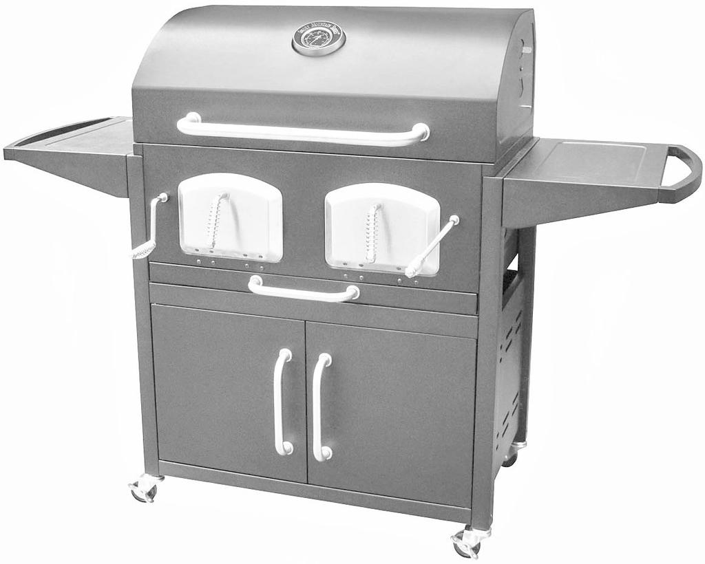READ FIRST RULES FOR BRAVO PREMIUM CHARCOAL GRILL SAFE OPERATION. PAGE 2 THE GRILL IS FOR OUTDOOR USE ONLY KEEP THE GRILL A MINIMUM OF 10 FT.