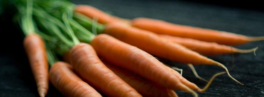 Carrots 1 ingredient 2 minutes 1 serving 1. Cut your raw carrots into slices and choose healthy dipping if preferred (eg.