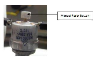 Boil Dry Protection & Manual Reset Button Boil dry accidents are the result of boiling all the water out of an urn.