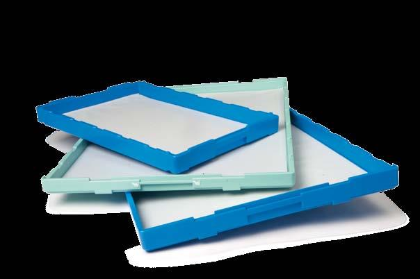 Hygiene concept the clean solution Who does not know this problem: mould deposit on proofing trays, cloths and baking trays.