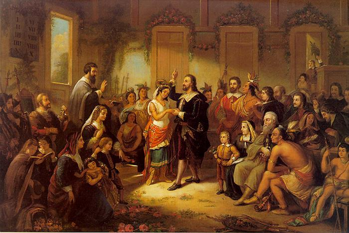 Pocahontas Marries John Rolfe in 1614: A Lasting Peace