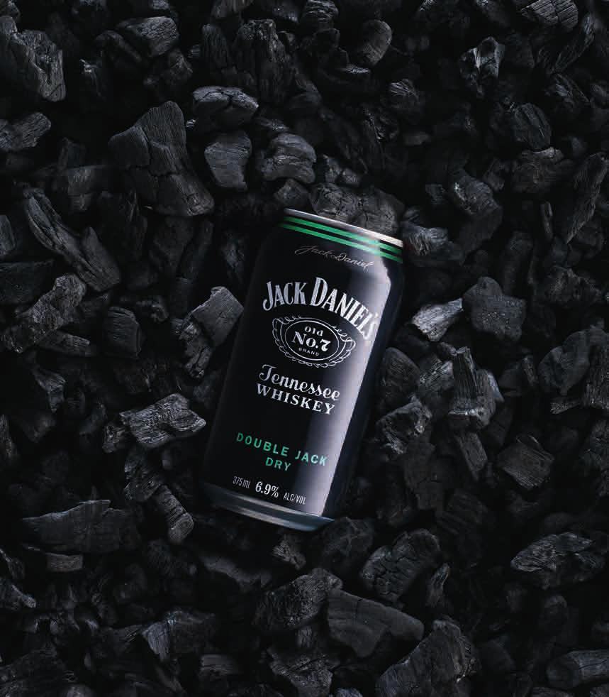 23 SAVE UP TO 3 new JACK DANIEL'S DOUBLE JACK & DRY CAN 4x375ML & RANGE
