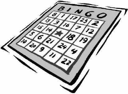 Mondays 1:00 p.m. Cards go on sale 12:30 pm $7 Buys 2 Packs Minimum buy 10 games $5 Minimum BINGO Pay-out $60 Bingo program for adults 18 years and above. Sorry, no children allowed.