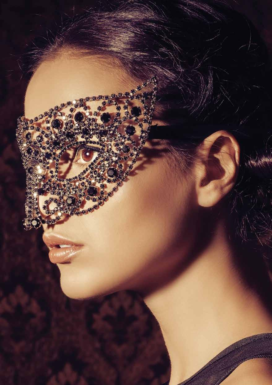 IT S TIME TO MASQUERADE Ring in the New Year in style as you put on your finery, elegant Venetian mask and get ready to embrace 2017 and all it has to offer.
