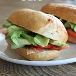 DAY 1 SMALLER FAMILY- AVOCADO BLT S M A I N D I S H Serves: 4 Prep Time: 10 Minutes Cook Time: 15 Minutes 1/2 pound turkey bacon 4 tomatoes (thinly sliced) Salt and pepper 4 whole wheat rolls 2