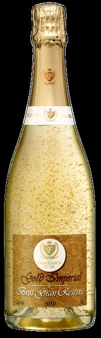 GRAN RESERVA BRUT Viña Fragrance D'or Brut Reserve is a sparkling wine from natural Macabeo, Xarel'lo, Parellada and Chardonnay in oak barrels, to achieve a sparkling classic but modern at the same