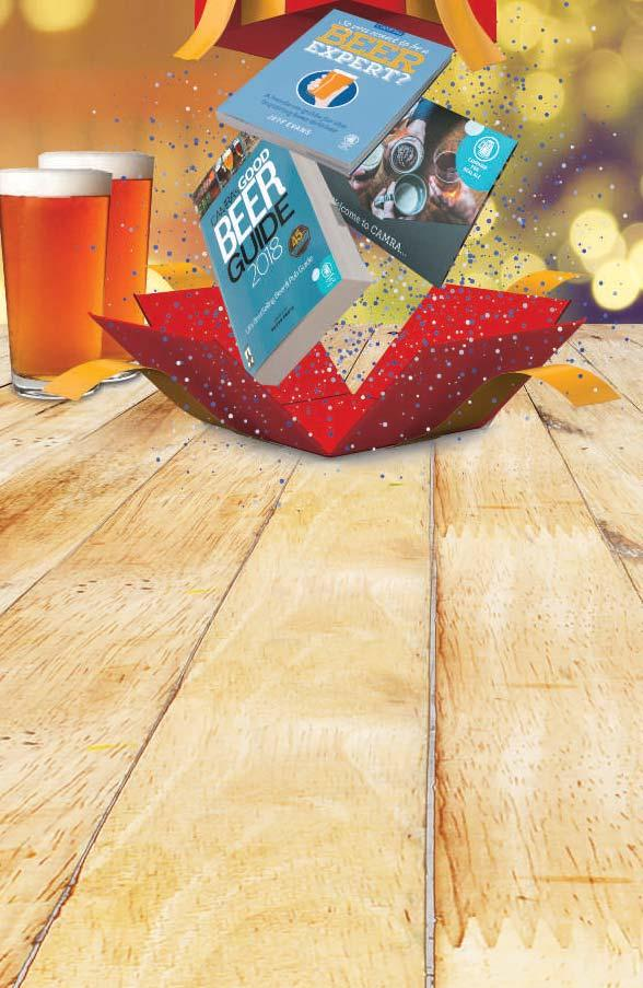 Wrap up Christmas with CAMRA gift membership Bursting with Christmas Cheer You can either cut this form