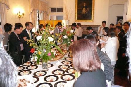 Mr. Wiggin, Minister Counselor for Agricultural Affairs, pointed out that Chef Nobu was awarded the Honorary U.S.