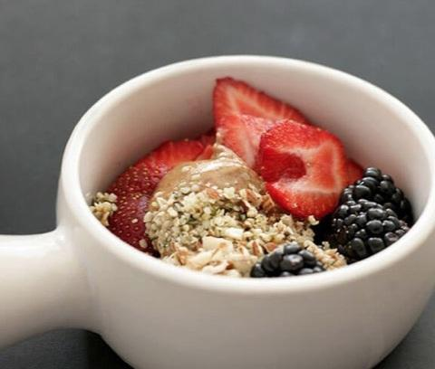 Overnight Triple Berry Oats Protein