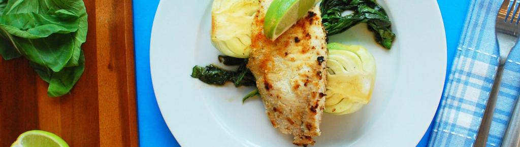 Honey Lime Tilapia with Steamed Bok Choy #dinner #eggfree #paleo #glutenfree #dairyfree 11 ingredients 30 minutes 4 servings 1.