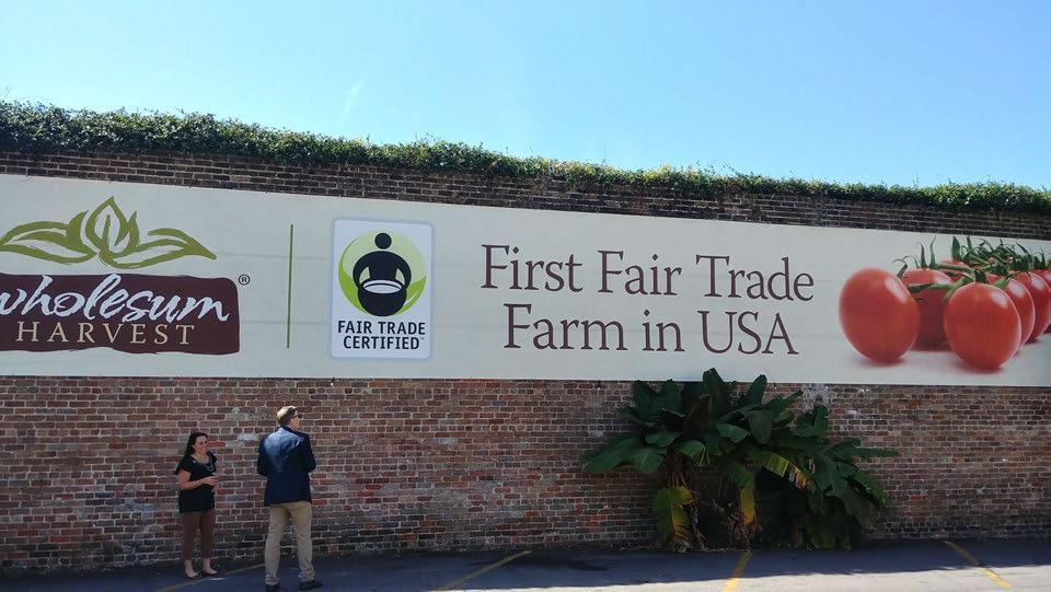 Mexico has most Fair Trade certificates in Produce.