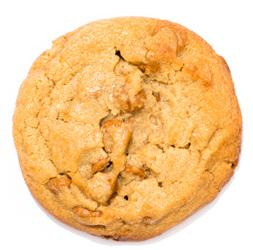 famous chocolate chunk cookie, with big