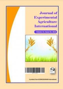 Journal of Experimental Agriculture International 22(3): 1-8, 2018; Article no.jeai.