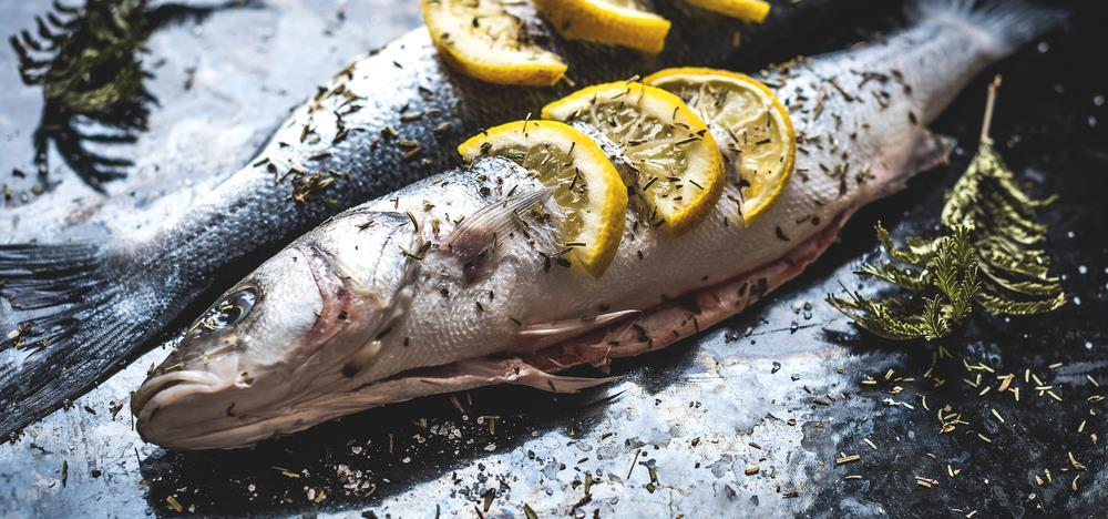 Fish with Herbs and Lime (Serves 4) 4 five or six-ounce firm fish fillets, such as cod, red snapper, or turbot 1 4 cup fresh lime juice 4 garlic cloves, pressed or minced 1 2 cup chopped fresh