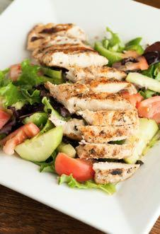 DAY 4 GLUTEN FREE- GRILLED ITALIAN CHICKEN M A I N D I S H Serves: 6 Prep Time: 4 Hours 15 Minutes Cook Time: 16 Minutes 1 1/2 cups GF Italian salad dressing 1 tablespoon miced garlic 1/2 teaspoon GF