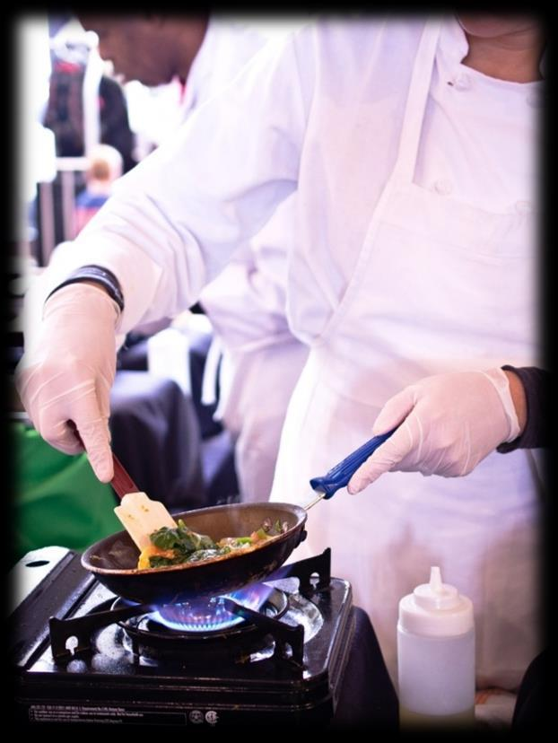 Specialty Action Stations A uniformed chef is required per station at $100.00 per 50 people. PASTA STATION $16.