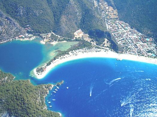 Marmaris and the surrounding area. You will enjoy the beautiful white sand and clear turquoise sea that stretch for 2kms.