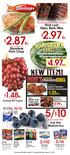 /$10 NEW ITEM! lb. 1.25ea. 3/$10. amazing. lb. lb. 10/$5. Pork Loin Baby Back Ribs. Boneless Pork Chop. 6.99lb.