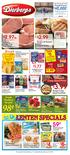 $2.99. Fresh. 16 oz. pkg. $1.77. Kellogg s Cereal or Pop Tarts oz. pkg. 8 ct. box. Selected varieties. 10/ $ 10