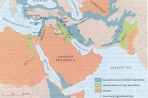 what is the significance of the fertile crescent