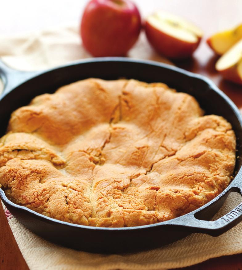 Apple Tarte Tatin With Almond-Flour Crust A classic French dessert made by caramelizing apples in a cast-iron pan and then topping with a pastry crust.