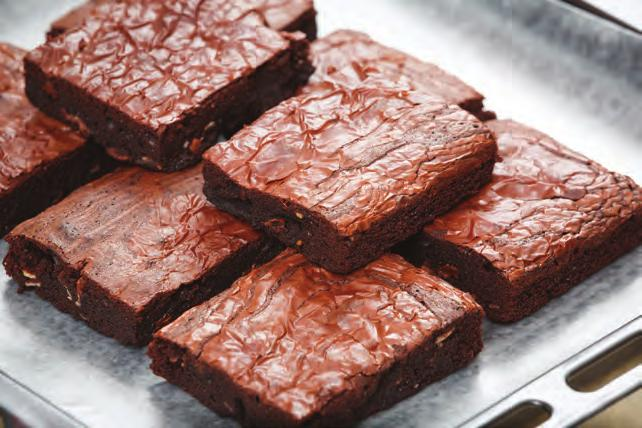 avocados 17 Avocado Chocolate Brownies Serves 20 Prep time: Approximately 10 minutes 1 box chocolate brownie mix* 1 egg 1 3 cup water 1 3 cup ripe large avocado, peeled, seeded and mashed *Note: This