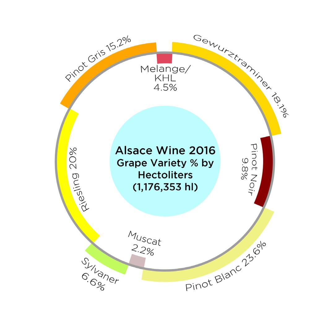 Chasselas areas and big jumps in Pinot