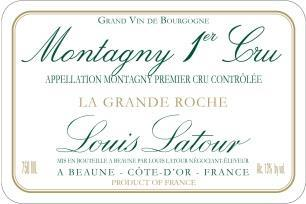Montagny 1er Cru La Grande Roche 2016 This very chalk and salty with minerality and ripe fruit at the same time. Plenty of lemon and grind pineapple character. Medium to full body and a fresh finish.