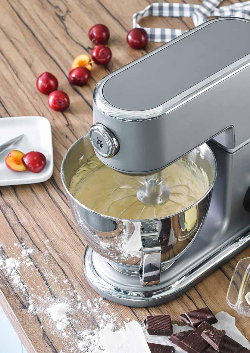 Let it knead, mix, stir! Your dough will be like handmade. Profi Plus STRICTLY HOMEMADE with WMF For dough that looks handmade.