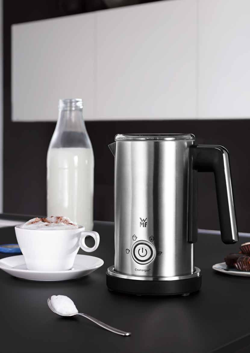 LINEO BREAKFAST with WMF Elegant design meets innovative WMF high performance. The WMF LINEO breakfast range in matt-brushed Cromargan comprises a 1.