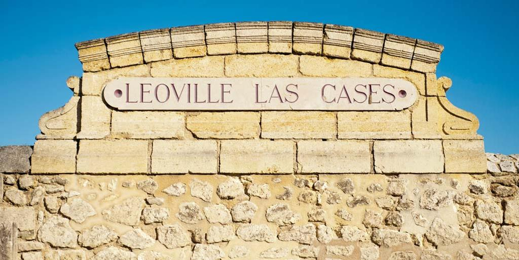 WINES OFFERED BY CHATEAU LEOVILLE-LAS-CASES Léoville-Las Cases has been in the Delon family for over a hundred years and is arguably a château that truly deserves to be ranked as a First- Growth.
