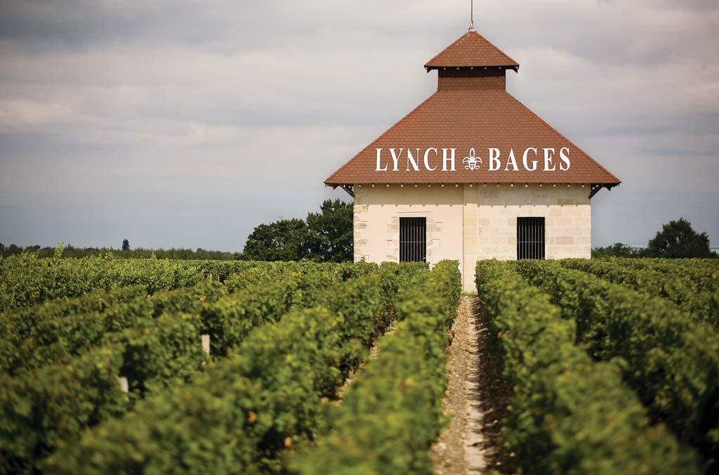 WINES OFFERED BY CHATEAU LYNCH-BAGES A château with no magnificent façade or impressive portico, but with world-class works of art and sculptures inside.