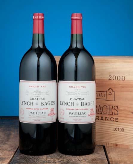 Château Lynch-Bages 1995 Pauillac, 5me cru classé Transparent crimson. Light, well mannered with a lead-pencil gloss. Polished tannins. Very slightly green note. Sweet and sour.
