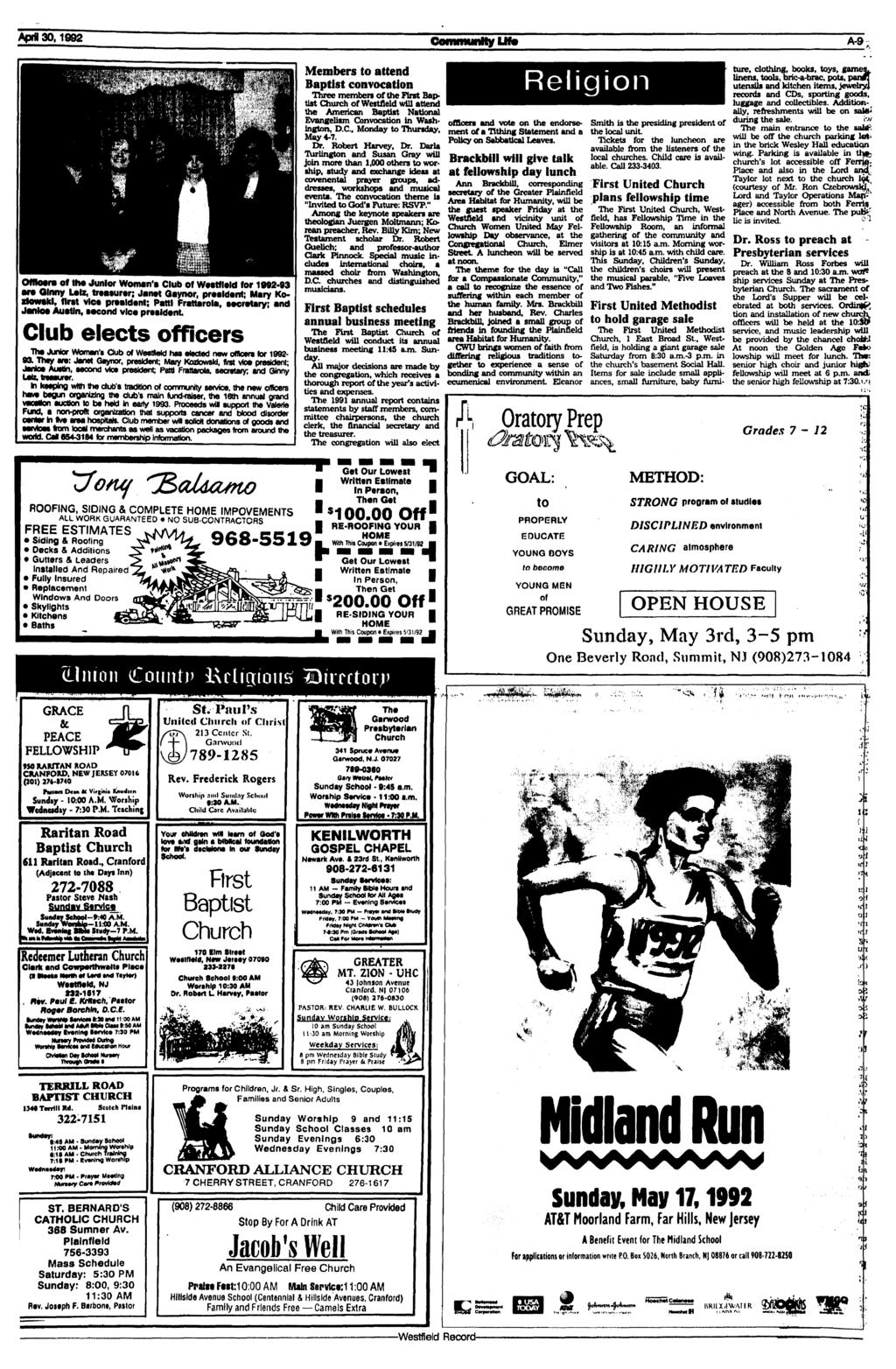 Thefestfield record pdf apr 301992 community un a 9 officers off thjunior womans fandeluxe Choice Image