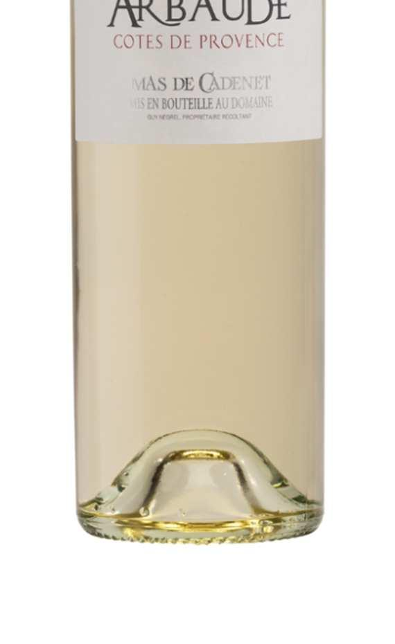 ARBAUDE WHITE Arbaude is the name of the main plot of the 5 hectares planted under the Côtes de Provence Appellation.