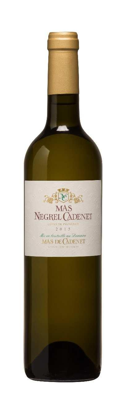 MAS NEGREL CADENET WHITE These gastronomic wines are the result of the selection of the oldest vines of the Estate and a complex vinification process. This cuvée has great ageing potential.