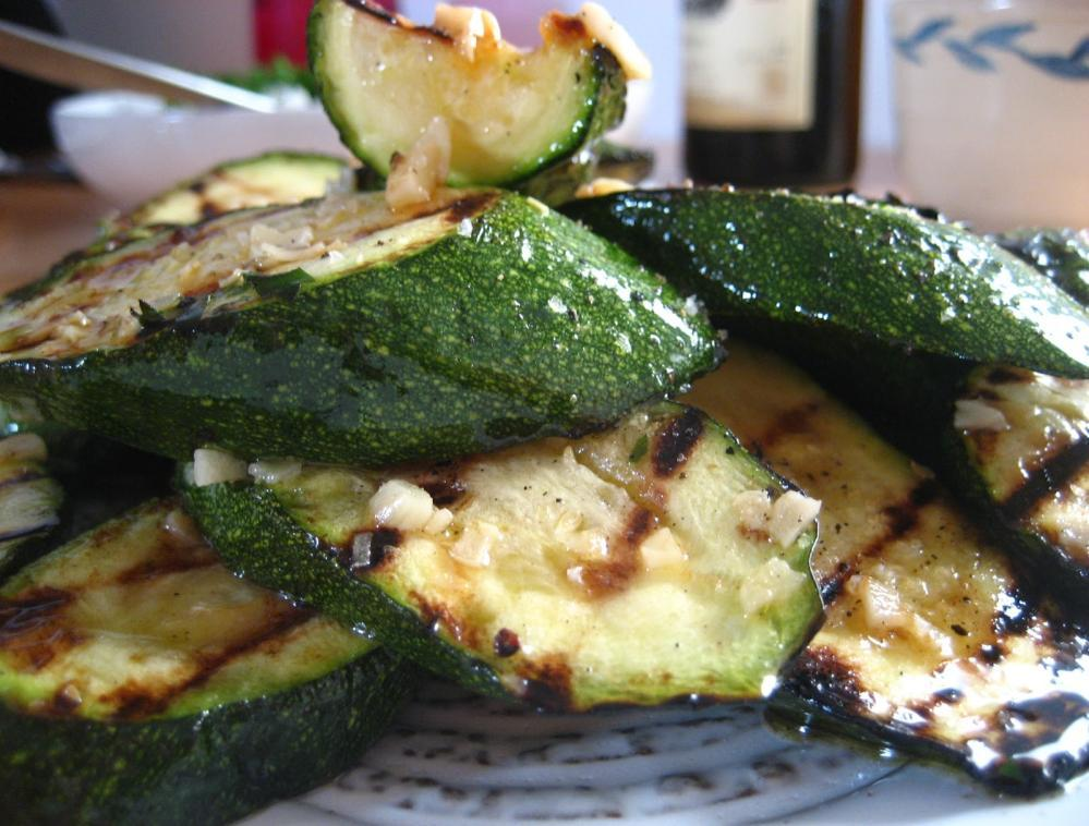 Grilled Garlic Zucchini https://www.flickr.