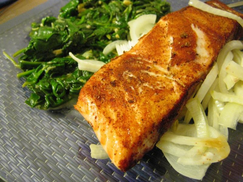 Lemon Garlic Salmon http://farm3.staticflickr.com/2037/2124964127_ebdf0a81fa_o.jpg Serves: 4 Ingredients: 4 4 oz.