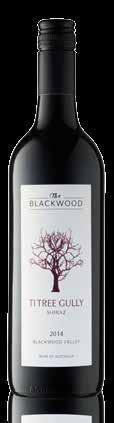 TI TREE GULLY SHIRAZ Elegant spice and white pepper notes, with a fruit forward wine that dances the line between warm and cool climate