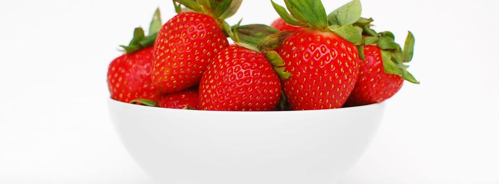 Fresh Strawberries 1 ingredient 5 minutes 1 serving 1. Wash strawberries under cold water and remove the stems. Dry well.