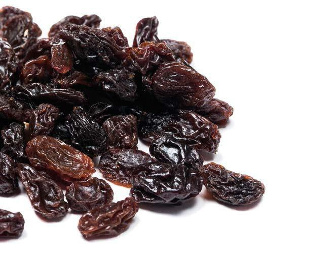 DRIED GRAPES PRODUCTION WORLD DRIED GRAPE PRODUCTION (Metric Tons) 2017/2018 dried grape (Raisins, Sultanas and Currants) production amounted to ca. 1.2 million metric tons.